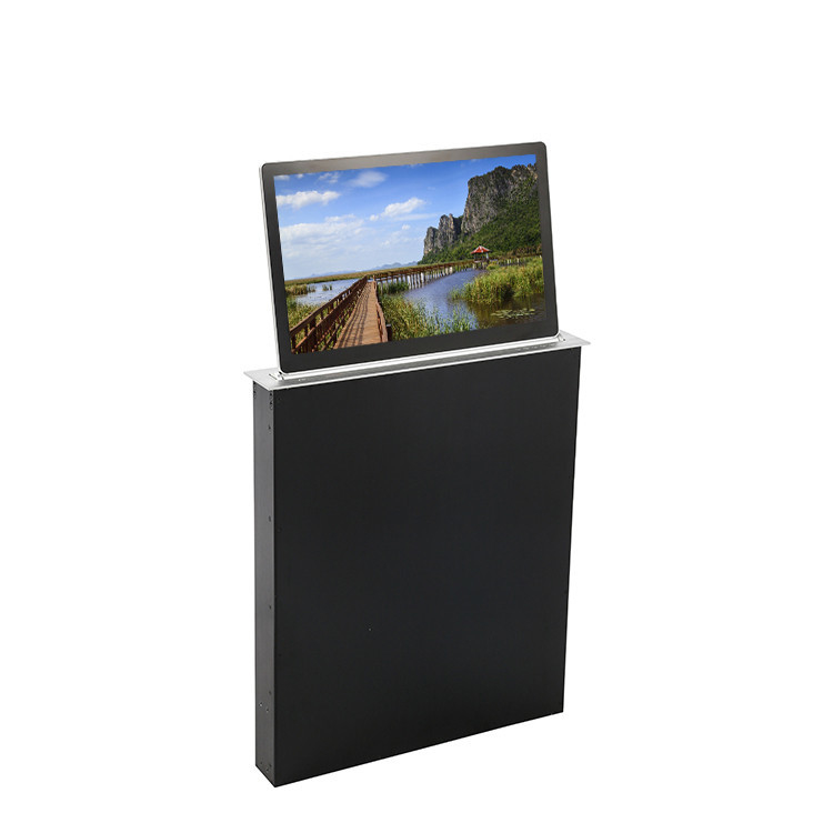 High Definition LCD Monitor Lift Display for  Office Meeting System Customize Available